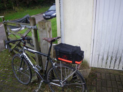 Carradice Super C Rackbag on the bike